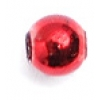 Craft Pearls 5mm Metallic Red